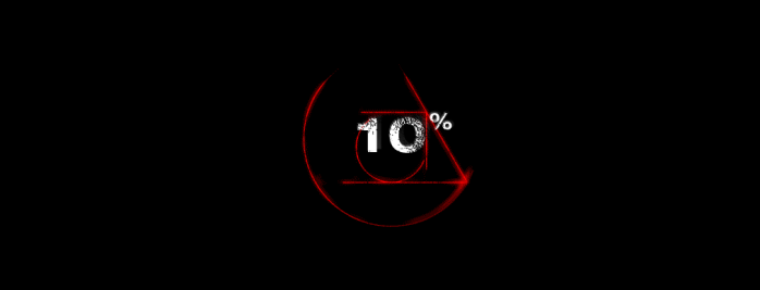 Image of the As Above / So Below load page at 10%