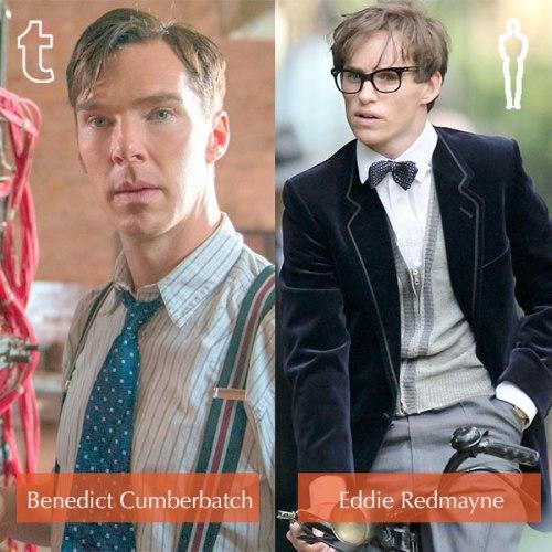 Tumblr prediction - Benedict Cumberbatch, Oscar winner - Eddie Redmayne