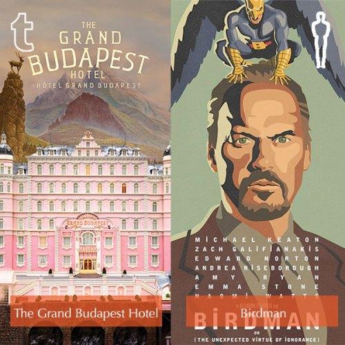 Tumblr prediction - The Grand Budapest Hotel, Oscar winner - Birdman
