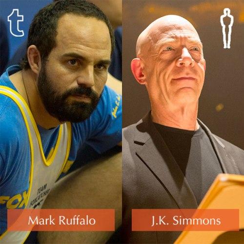 Tumblr Prediction - Mark Ruffalo, Oscar Winner - J.K. Simmons