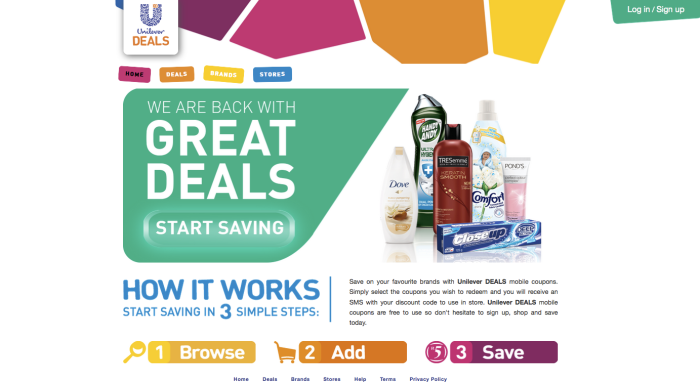 foxie-reviews-unilever-new-zealand-mobile-coupons