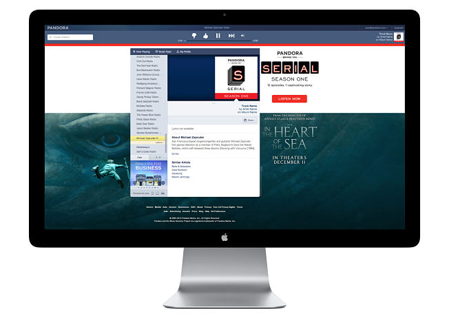 Serial channel on Pandora
